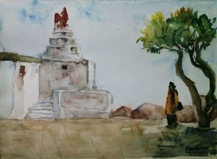 Anjanadri Hilltop - Hampi - kalmsoulatwork
