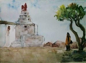 Anjanadri Hilltop - Hampi
