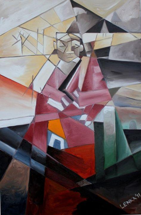 Monk No.5 - Lenka Graner's Paintings
