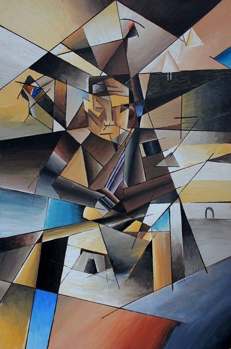 Monk No 1 - Lenka Graner's Paintings
