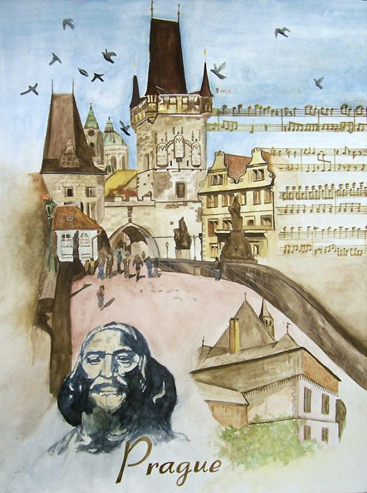 Prague - Lenka Graner's Paintings