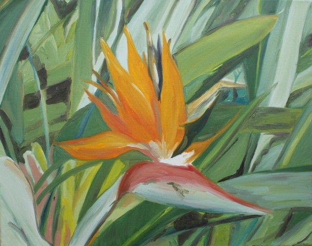 Strelitzia Reginae - Lenka Graner's Paintings