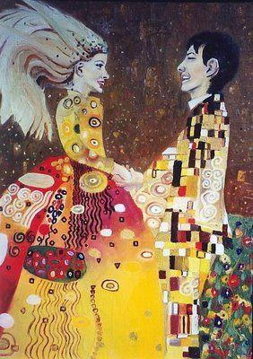 Joyful Romance - Lenka Graner's Paintings