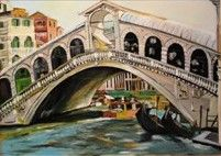 Rialto Bridge - Lenka Graner's Paintings