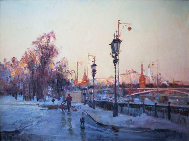 Winter on the Clean Ponds - Oksana Begma