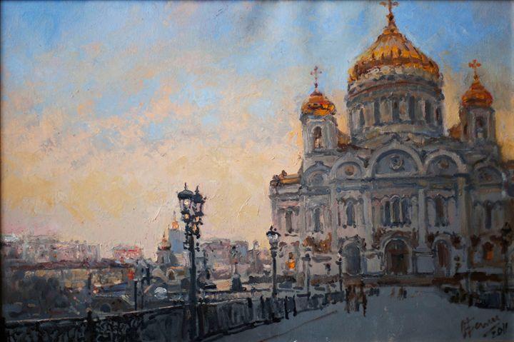 Moscow - Oksana Begma