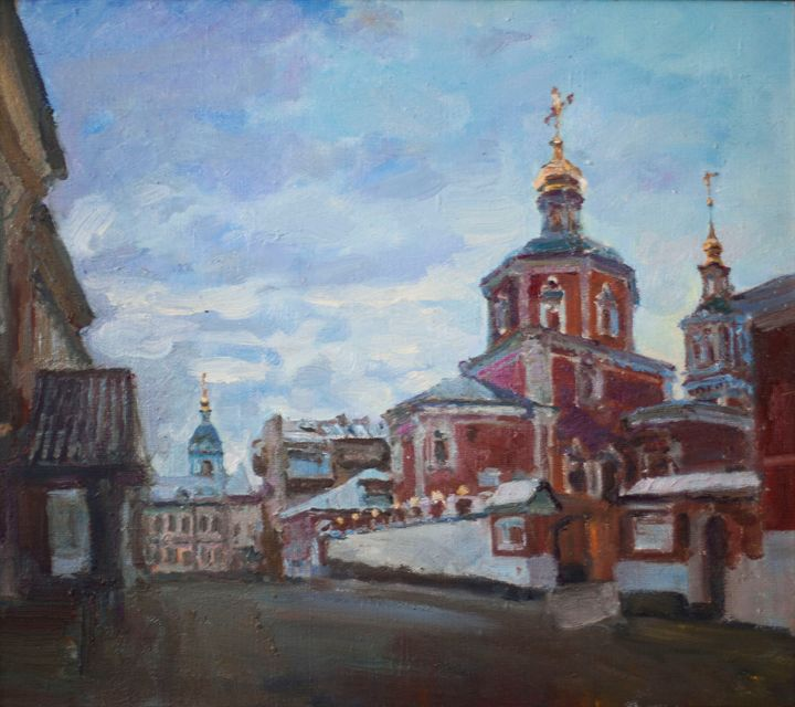 Moscow church - Oksana Begma