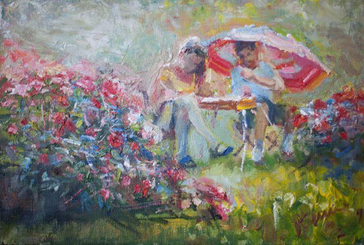 On the open air - Oksana Begma