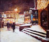 The night, Moscow, 60x50 cm, 2008