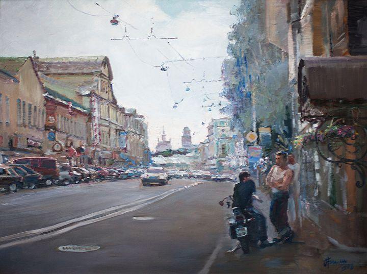 Petrovka street - Oksana Begma