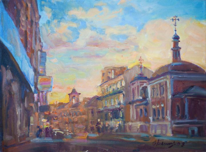 Pokrovka street - Oksana Begma