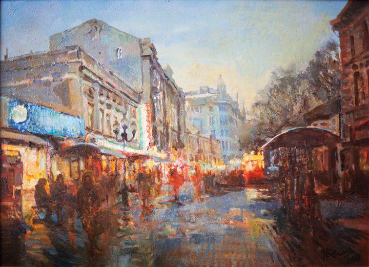 Moscow twilight - Oksana Begma