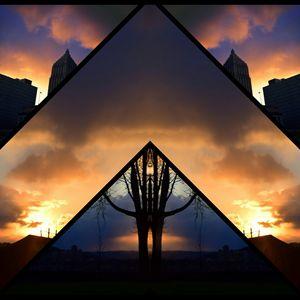 sunset collage - Shoutssoftly