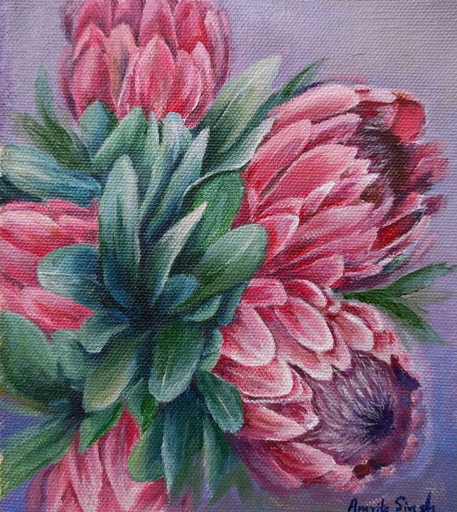 Protea star - Saakura Mee