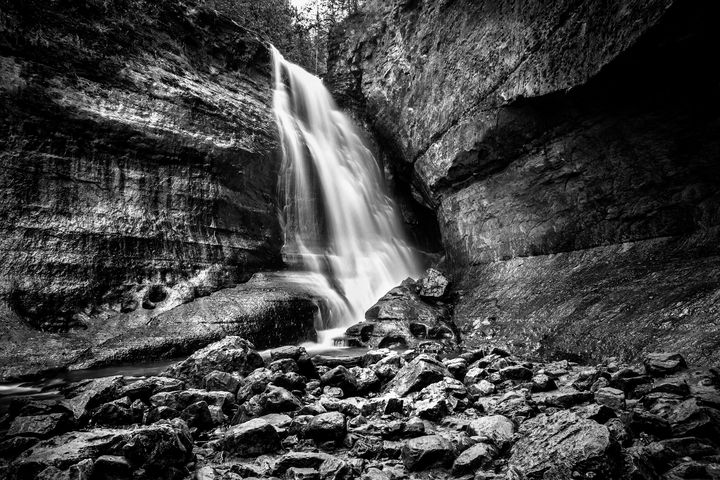 Miners Falls - Dave Hare Photography
