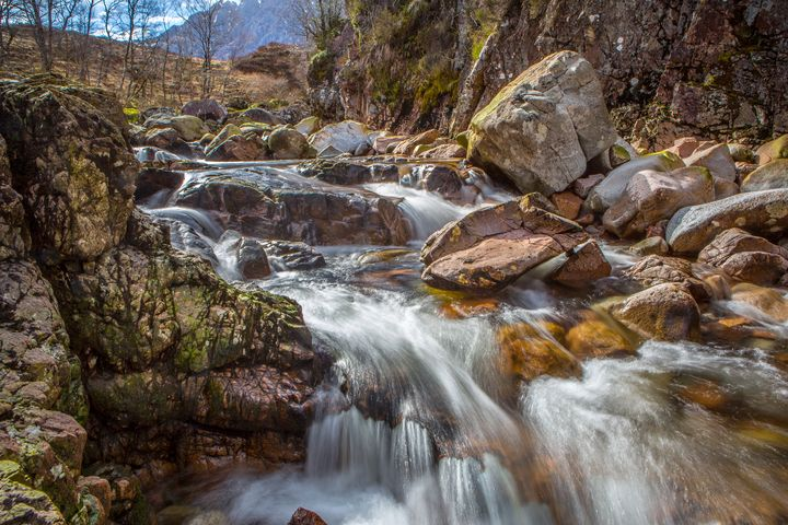 Rapids at Glencoe - Dave Hare Photography