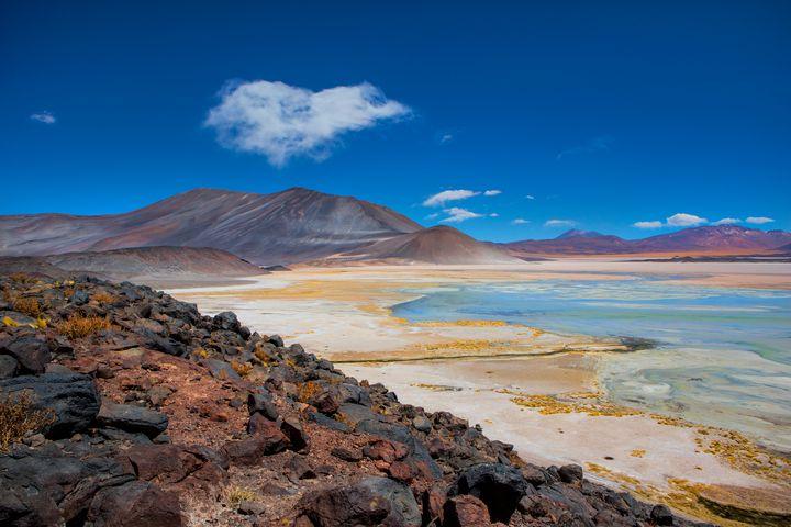 Atacama salt lake - Dave Hare Photography