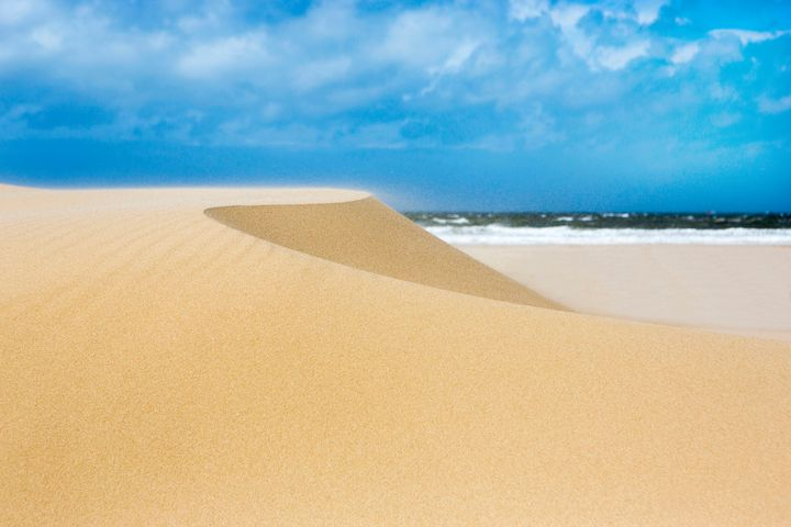 Sand Dunes - Dave Hare Photography