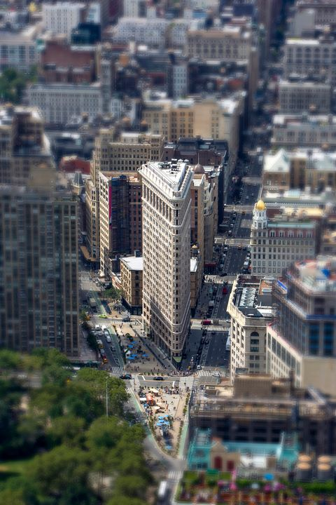Flat Iron from above - Dave Hare Photography