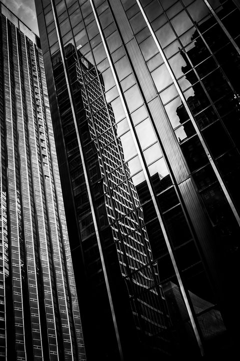 Manhattan Reflections - Dave Hare Photography