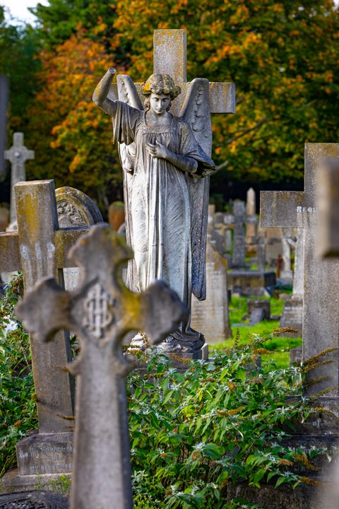 Cemetery Angel - Dave Hare Photography