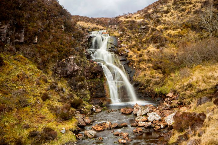 Moorland Falls - Dave Hare Photography
