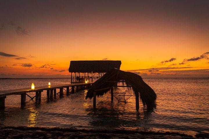 Caribbean Sunset - Dave Hare Photography