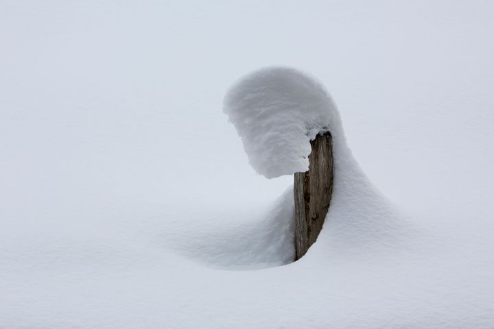 Shapes in Snow - Dave Hare Photography
