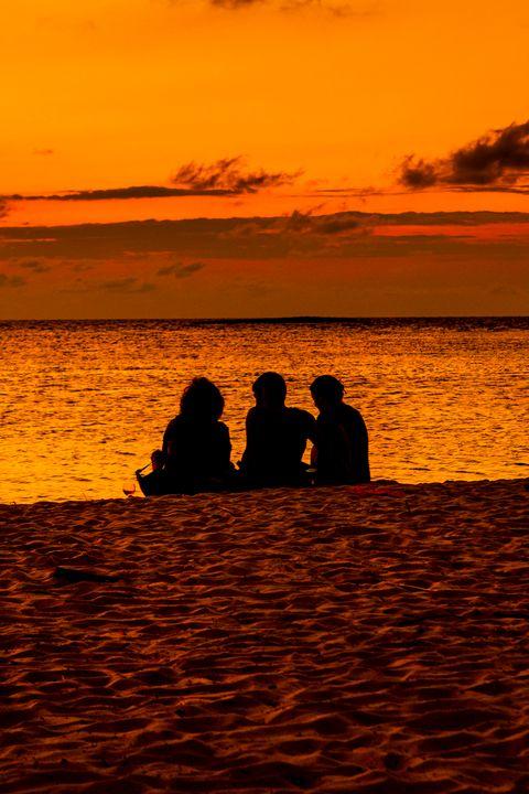 Sunset Beach - Dave Hare Photography