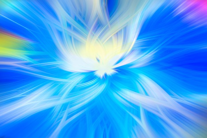 Abstract Blue - Dave Hare Photography