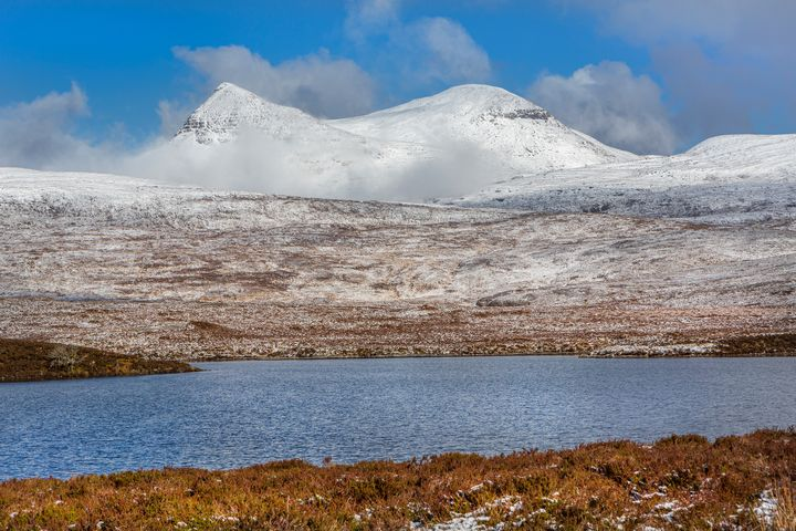 Snow covered Moorland - Dave Hare Photography