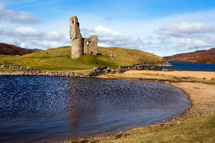 Ardvreck Castle Ruins - Dave Hare Photography
