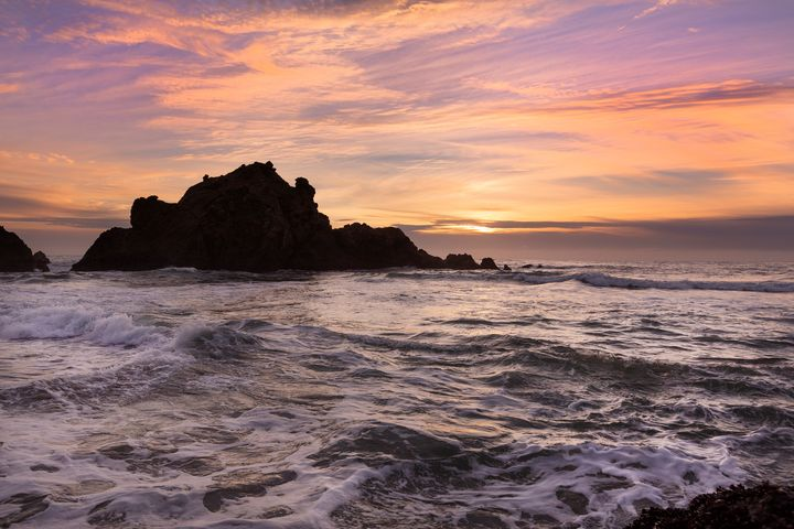 Pacific Sunset - Dave Hare Photography