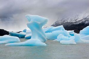 Grey Lake Ice Flows