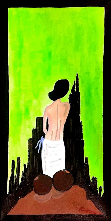 Village Girl Dreams Of City Life - Communicating Colors