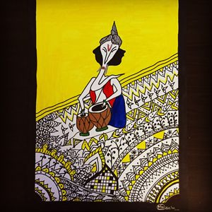 Indian Madhubani Art