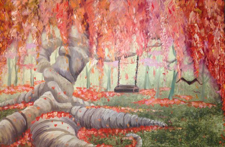 Twisted Tree Swing - Nicole Rex