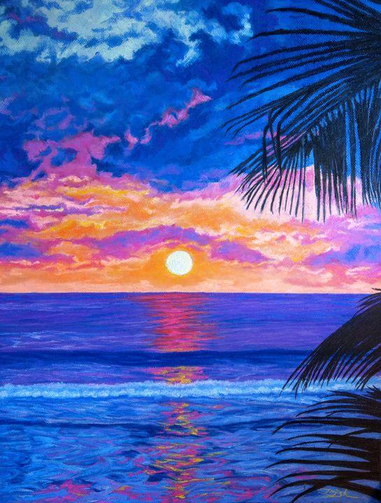 Palm Sunset Beach - Trish Bonnette