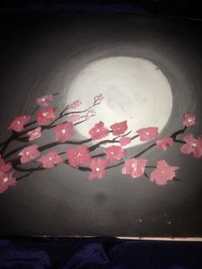 Flowers in sky