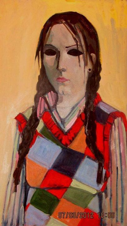 Portrait of a girl - Liana Grigoryan