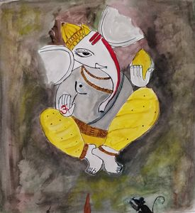 Ganpati - the elephant god