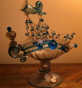 Decorative Venetian glass