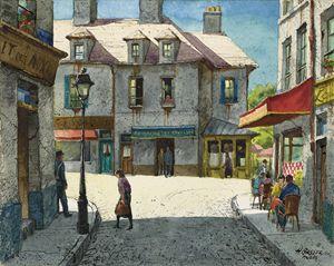 HENRY MARTIN GASSER Paris Street Sce