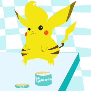pomade pikachuy