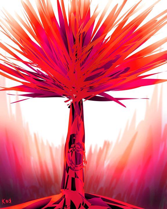 it's a red tree - Khiem Nguyen