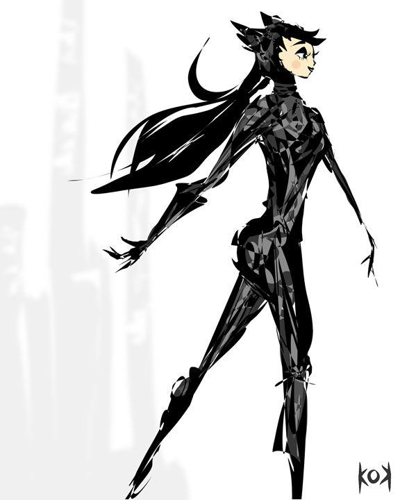 catwoman - Khiem Nguyen