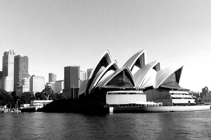 Sydney Opera House - KCBlack&White