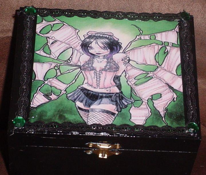 Goth Fairy - Carolina Keepsakes