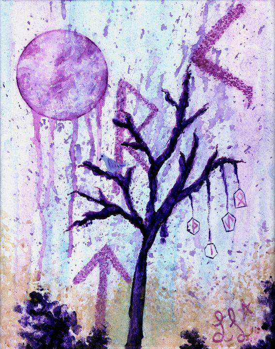 Whisper of the Runic Tree - Lady Luna Star