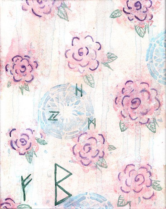 Runic Roses - Lady Luna Star